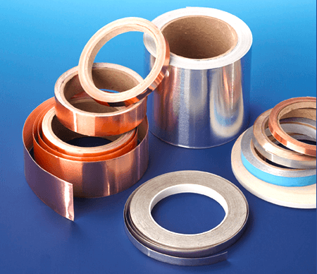 A large series of electrical conductive tapes for EMI/RFI shielding