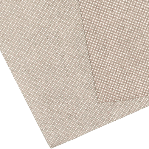 Copper/Nickel conductive non-woven fabric for EMI shielding applications