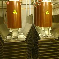 Electromagnetic shielding for transformer rooms