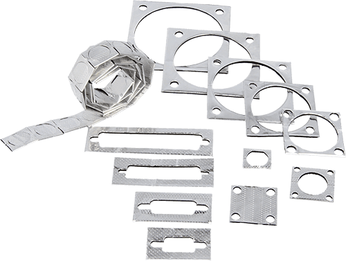 Connector gaskets can be made in almost any shape and size
