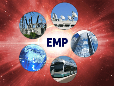 Facilities at risk with an EMP