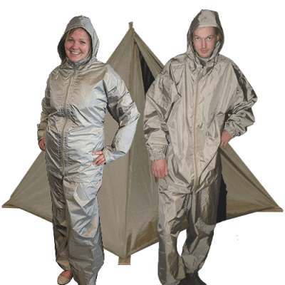 Faraday tents & Personal protection