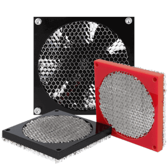 Honeycomb Fan Schild