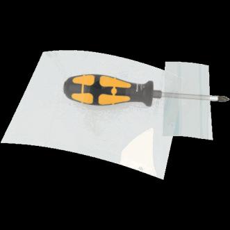 Transparente Folienabschirmung
