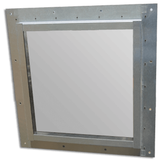 High performance Faraday cage windows