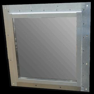 Faraday Käfigfenster