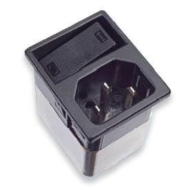 Netzfilter mit integriertem 2-poligem Schalter